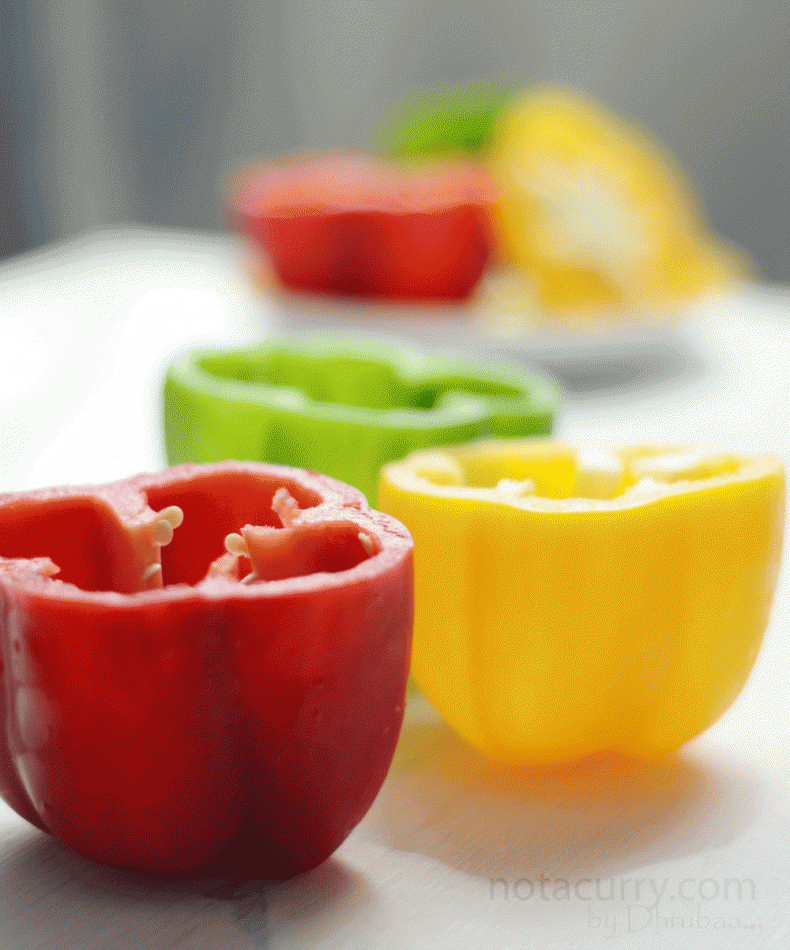 bell peppers images dads stuffed bell cut tops off of bell peppers dad ...