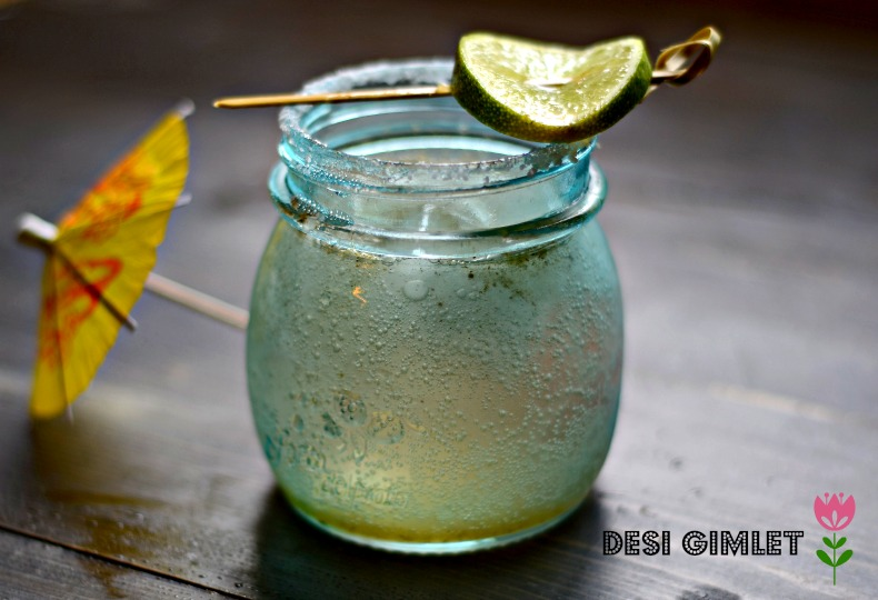 Indian style gimlet recipe